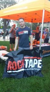 Rock tape banner