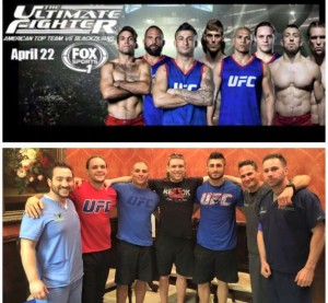 Brett and UFC fighters